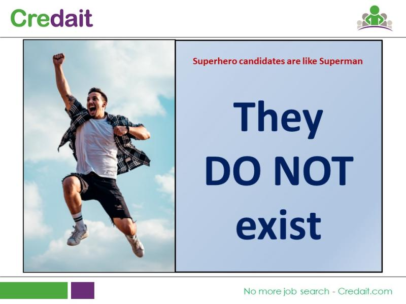 Superhero candidates are like Superman – They Do Not exist
