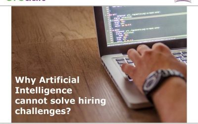 Why Artificial Intelligence can't solve the hiring challenges?