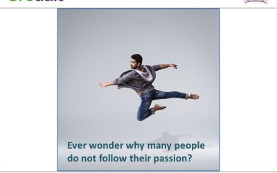 Ever wonder why many people do not follow their passion?