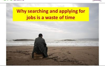 Why searching and applying for jobs is a waste of time