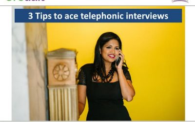 3 Tips to ace telephonic interviews