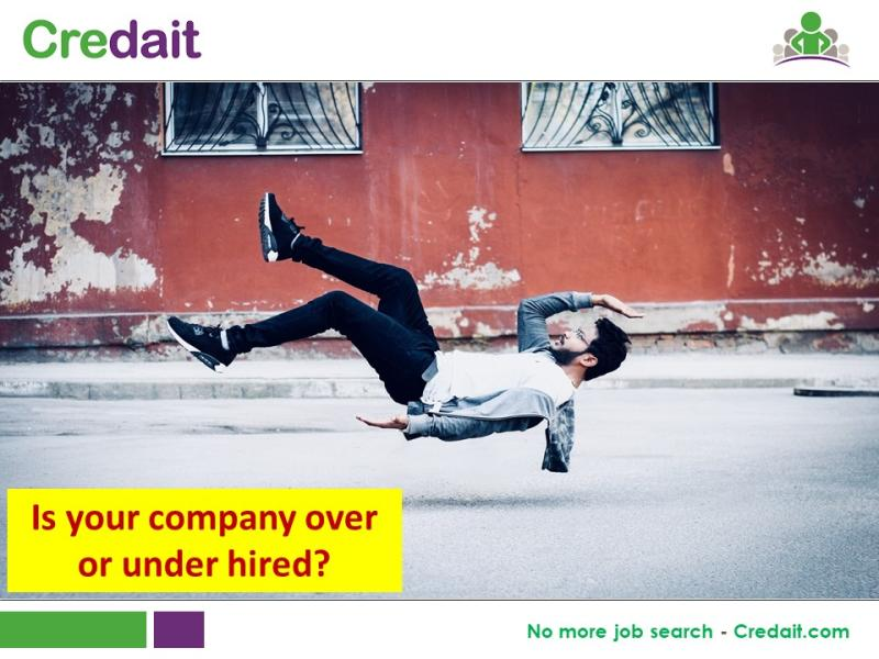 Is your company over or under hired?