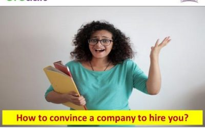 How to convince a company to hire you?