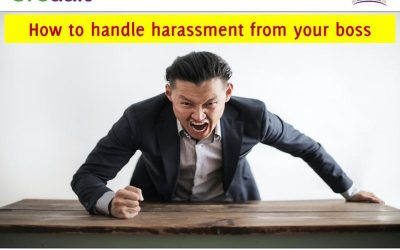 How to handle harassment from your boss