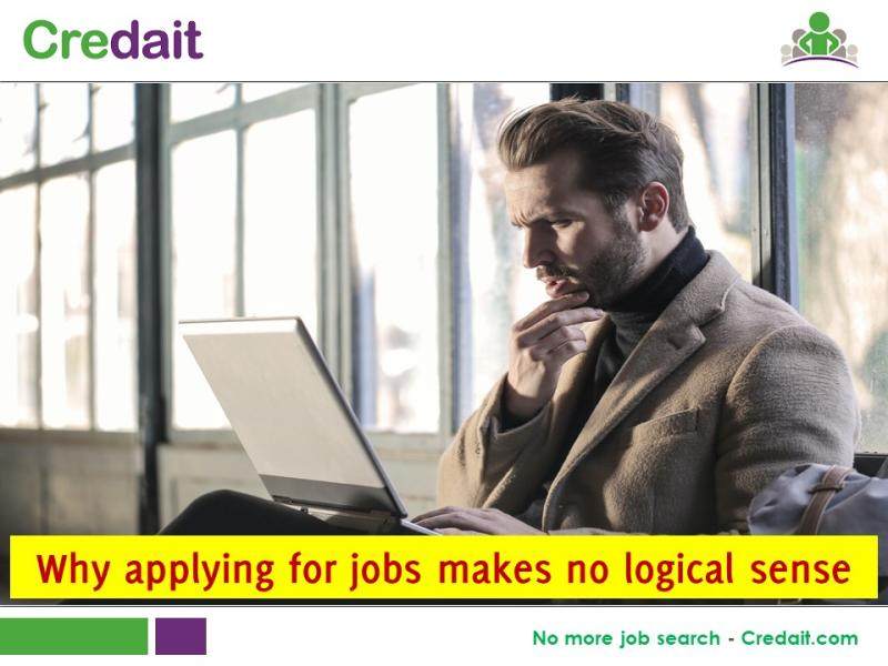 Why applying for jobs makes no logical sense