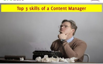 Top 3 skills of a Content Manager