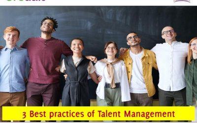 3 Best practices of Talent Management
