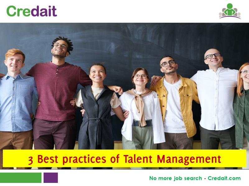 3 Best practices of Talent Management