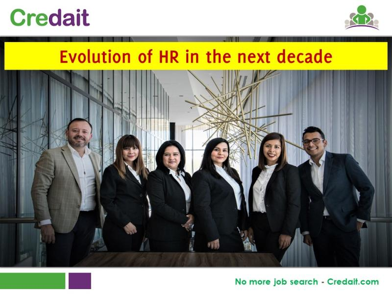 Evolution of HR in the next decade