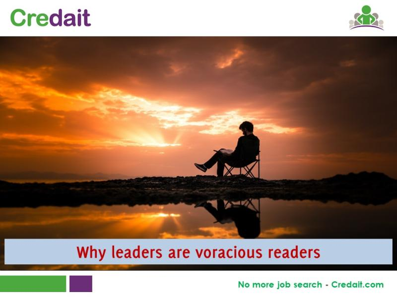 Why leaders are voracious readers