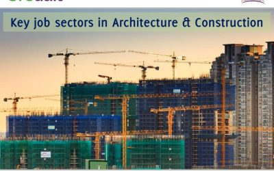 Key job sectors in Architecture & Construction