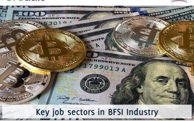 Key job sectors in BFSI Industry