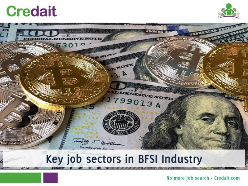Key job sectors in BFSI Industry