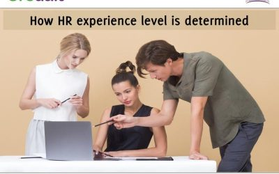 How HR experience level is determined