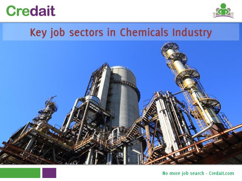 Key job sectors in Chemicals Industry
