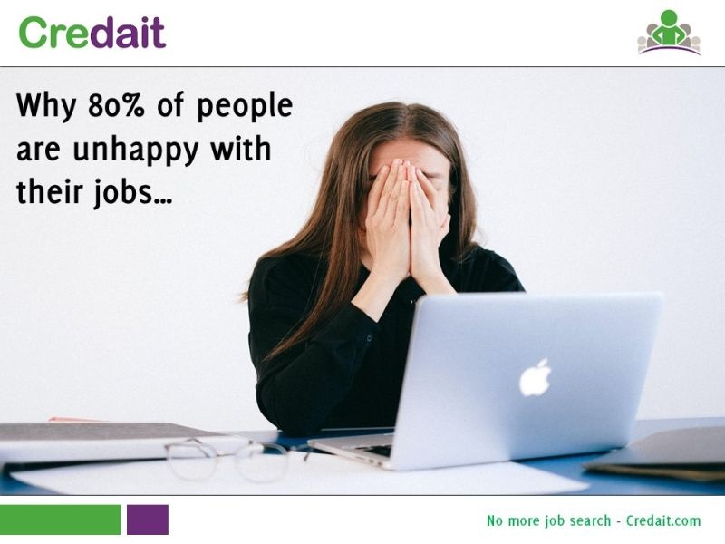 Why 80% of people are unhappy with their jobs